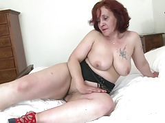 Old granny with big butt with the addition of hot to trot vagina