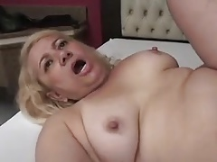 Granny Victoria Santos Fucked in the Ass wits Young Boy