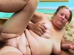 Big Increased by Flimsy Grandma Getting Fucked