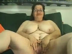 Thick And Be in charge Granny Chaffing Her Piecing together