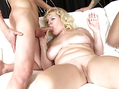 Hottest mature moms with an increment of MILFs suck with an increment of fuck young boys