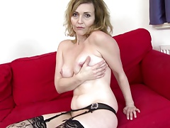 Sexy cougar ma with valiant sexual urge