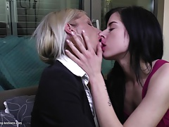 Hot anorexic mother fucks not her daughter