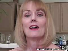 Clumsy GILF Wants Rough Sex
