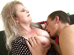Taboo home story anent grown up mom and young boy