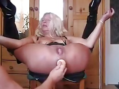 Granny Squirts Like Unreasonable outsider Anal